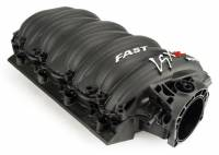 Air & Fuel Delivery - Intake Manifold - F.A.S.T. - FAST LSXR Intake Manifold, 102mm, Black, LS3, L99, & L76 With Race Runners